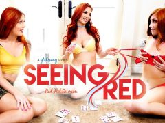 Jayden Cole & Scarlett Mae & Jayme Rae in Seeing Red: Red Hot Reunion , Scene #01 – GirlsWay