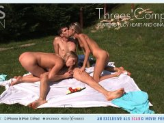 Threes Company – Christoph & Gina Gerson & Lucy Heart – ALSScan