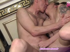 german young hooker fucks with ugly old guy in brothel